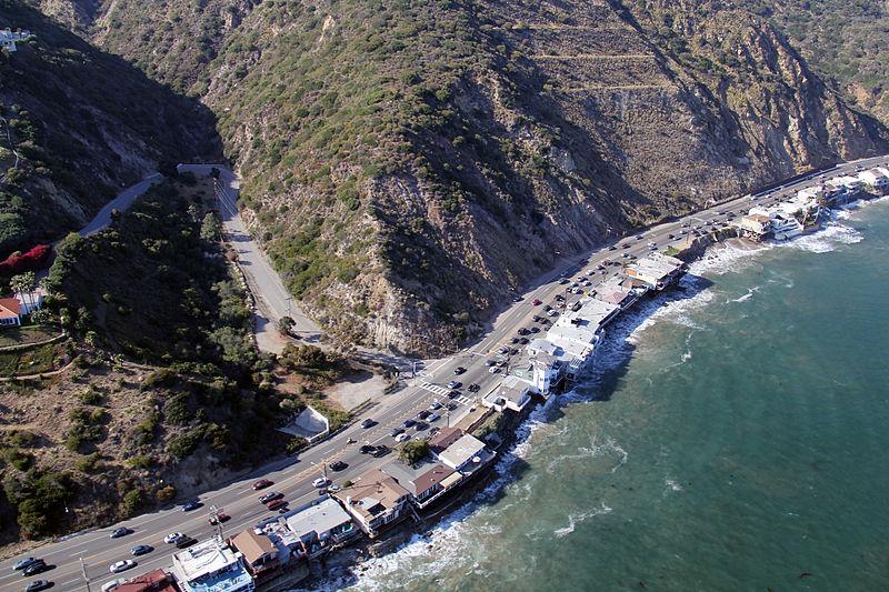 Pacific Coast Highway through Big Rock
